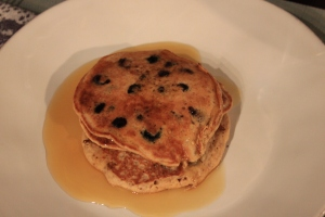 Pancakes-Cooked
